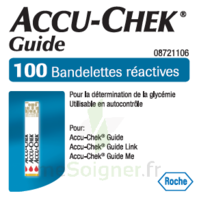 Accu-chek Guide Bandelettes 2 X 50 Bandelettes à QUINCY-SOUS-SÉNART