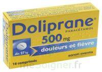 Doliprane 500 Mg Comprimés 2plq/8 (16) à QUINCY-SOUS-SÉNART