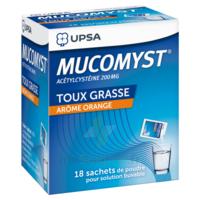 Mucomyst 200 Mg Poudre Pour Solution Buvable En Sachet B/18 à QUINCY-SOUS-SÉNART