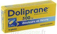 Doliprane 500 Mg Gélules B/16 à QUINCY-SOUS-SÉNART