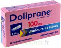 Doliprane 100 Mg Suppositoires Sécables 2plq/5 (10) à QUINCY-SOUS-SÉNART