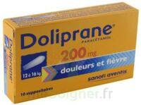 Doliprane 200 Mg Suppositoires 2plq/5 (10) à QUINCY-SOUS-SÉNART