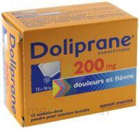 Doliprane 200 Mg Poudre Pour Solution Buvable En Sachet-dose B/12 à QUINCY-SOUS-SÉNART