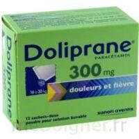 Doliprane 300 Mg Poudre Pour Solution Buvable En Sachet-dose B/12 à QUINCY-SOUS-SÉNART