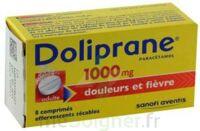 Doliprane 1000 Mg Comprimés Effervescents Sécables T/8 à QUINCY-SOUS-SÉNART