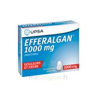 Efferalgan 1000 Mg Comprimés Pelliculés Plq/8 à QUINCY-SOUS-SÉNART
