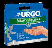 Urgo Brulures-blessures Petit Format X 6 à QUINCY-SOUS-SÉNART