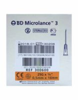 Bd Microlance 3, G25 5/8, 0,5 Mm X 16 Mm, Orange  à QUINCY-SOUS-SÉNART