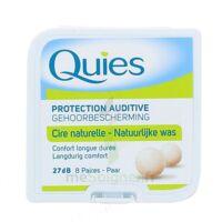 Quies Protection Auditive Cire Naturelle 8 Paires à QUINCY-SOUS-SÉNART
