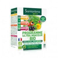 Santarome Bio Programme Ultra Minceur Solution Buvable 30 Ampoules/10ml à QUINCY-SOUS-SÉNART