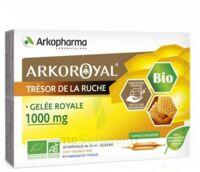 Arkoroyal Gelée Royale Bio 1000 Mg Solution Buvable 20 Ampoules/10ml à QUINCY-SOUS-SÉNART