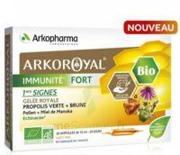 Arkoroyal Immunité Fort Solution Buvable 20 Ampoules/10ml à QUINCY-SOUS-SÉNART