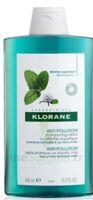 Klorane Menthe Aquatique Shampooing Détox 400ml à QUINCY-SOUS-SÉNART