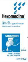 Hexomedine 1 Pour Mille S Appl Loc Fl/250ml à QUINCY-SOUS-SÉNART