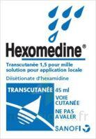 Hexomedine Transcutanee 1,5 Pour Mille, Solution Pour Application Locale à QUINCY-SOUS-SÉNART