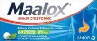 Maalox Hydroxyde D'aluminium/hydroxyde De Magnesium 400 Mg/400 Mg Cpr à Croquer Maux D'estomac Plq/60 à QUINCY-SOUS-SÉNART