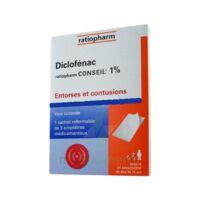 Diclofenac Ratiopharm Conseil 1 %, Emplâtre Médicamenteux à QUINCY-SOUS-SÉNART