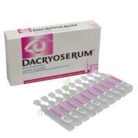 Dacryoserum Solution Pour Lavage Ophtalmique En Récipient Unidose 20unidoses/5ml à QUINCY-SOUS-SÉNART