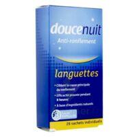 Doucenuit Antironflement Languettes, Sachet 28 à QUINCY-SOUS-SÉNART