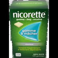 Nicorette 2 Mg Gom à Mâcher Médic Sans Sucre Menthe Fraîche Plq/105gom à QUINCY-SOUS-SÉNART