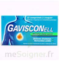 Gavisconell Coprimés à Croquer Sans Sucre Menthe édulcoré à L'aspartam Et à L'acésulfame Potas Plq/24 à QUINCY-SOUS-SÉNART