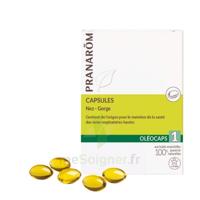 Pranarom Oleocaps 1 Caps Nez Gorge Oreilles à QUINCY-SOUS-SÉNART