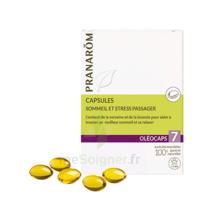 Pranarom Oleocaps 7 Caps Sommeil & Stress Passager à QUINCY-SOUS-SÉNART