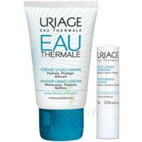Uriage Eau Thermale Crème D'eau Mains T/30ml+stick Lèvres à QUINCY-SOUS-SÉNART