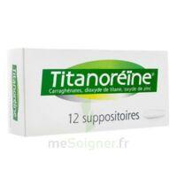 Titanoreine Suppositoires B/12 à QUINCY-SOUS-SÉNART