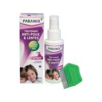 Paranix Solution Antipoux Huiles Essentielles 100ml+peigne à QUINCY-SOUS-SÉNART