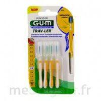 Gum Trav - Ler, 1,3 Mm, Manche Jaune , Blister 4 à QUINCY-SOUS-SÉNART