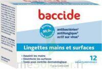 Baccide Lingette Désinfectante Mains & Surface 12 Pochettes à QUINCY-SOUS-SÉNART