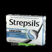 Strepsils Lidocaïne Pastilles Plq/24 à QUINCY-SOUS-SÉNART