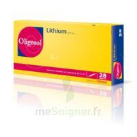 Oligosol Lithium Solution Buvable En Ampoule Ou En Récipient Unidose 28amp/2ml à QUINCY-SOUS-SÉNART