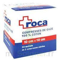 Roca, 10 Cm X 10 Cm, Sachet De 2, 50 Sachets, Bt 100 à QUINCY-SOUS-SÉNART