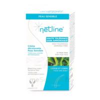 Netline Crème Visage/corps Décolorante Peau Sensible 30+30ml à QUINCY-SOUS-SÉNART