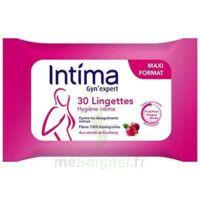 Intima Gyn'expert Lingettes Cranberry Paquet/30 à QUINCY-SOUS-SÉNART