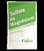 Gifrer Magnésium Sulfate Poudre 50 Sachets/30g à QUINCY-SOUS-SÉNART