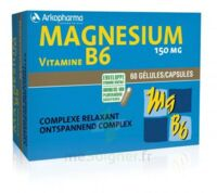 Arkovital Magnésium Vitamine B6 Gélules 2b/60 à QUINCY-SOUS-SÉNART