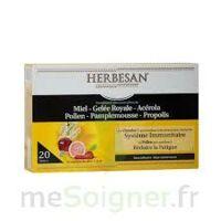 Herbesan Système Immunitaire 30 Ampoules à QUINCY-SOUS-SÉNART