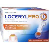 Locerylpro 5 % V Ongles Médicamenteux Fl/2,5ml+spatule+30 Limes+lingettes à QUINCY-SOUS-SÉNART