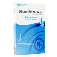 Desomedine 0,1 % Collyre Sol 10fl/0,6ml à QUINCY-SOUS-SÉNART
