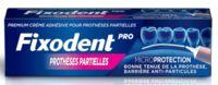 Fixodent Pro Crème Adhésive Pour Prothèse Partielle T/40g à QUINCY-SOUS-SÉNART