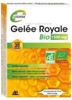 Cooper Gelée Royale Bio 1500 Mg Solution Buvable 20 Ampoules/10ml à QUINCY-SOUS-SÉNART