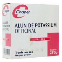 Cooper Alun Potassium Poudre B/250g à QUINCY-SOUS-SÉNART