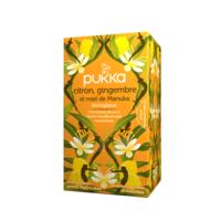 Pukka Bio Citron, Gingembre Et Miel De Manuka Tisane Immunité Citron Gingembre Miel De Manuka 20 Sachets à QUINCY-SOUS-SÉNART