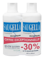 Saugella Emulsion Dermoliquide Lavante 2fl/500ml à QUINCY-SOUS-SÉNART