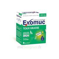 Exomuc 200 Mg, Granulés Pour Usage Oral En Sachet 15 Sachets/2g à QUINCY-SOUS-SÉNART