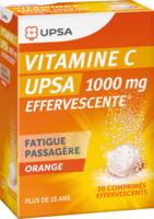 Vitamine C Upsa Effervescente 1000 Mg, Comprimé Effervescent à QUINCY-SOUS-SÉNART